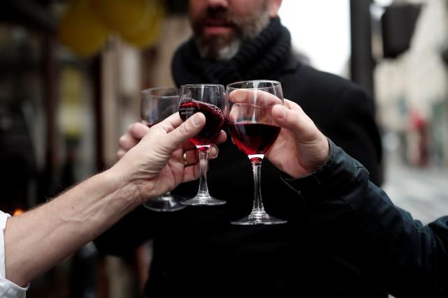Le Beaujolais revendique «la plus forte croissance parmi... (PHOTO BENOIT TESSIER, ARCHIVES REUTERS)