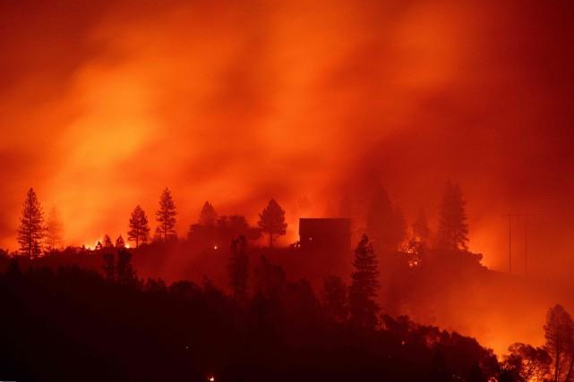 La California a été touchée par des feux... (PHOTO JOSH EDELSON, ARCHIVES AGENCE FRANCE-PRESSE)