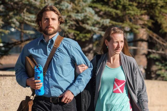 David Stephan et son épouse Collet Stephan avaient... (PHOTO DAVID ROSSITER, ARCHIVES LA PRESSE CANADIENNE)