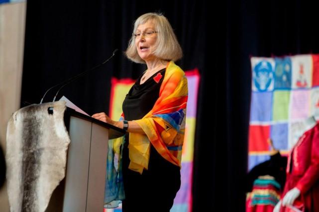 La juge britanno-colombienne Marion Buller, qui dirigeait l'Enquête... (PHOTOANDREW MEADE, AGENCE FRANCE-PRESSE)