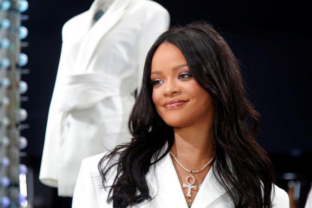 Rihanna vient de décrocher le titre de chanteuse... (PHOTO CHARLES PLATIAU, ARCHIVES REUTERS)