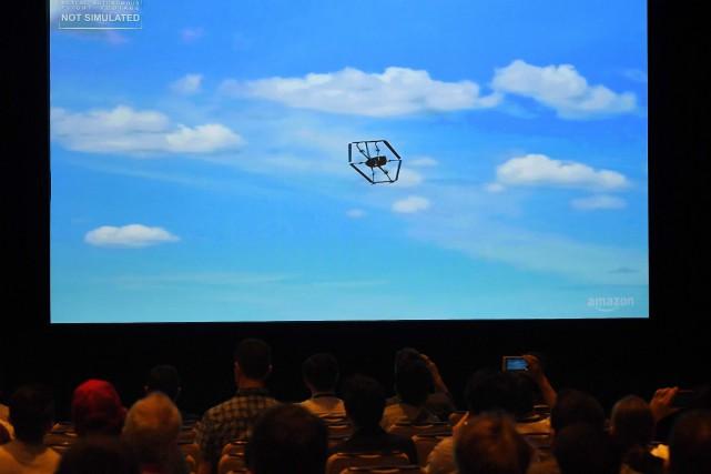 «Nous avons travaillé dur pour concevoir des drones... (PHOTO MARK RALSTON, AFP)