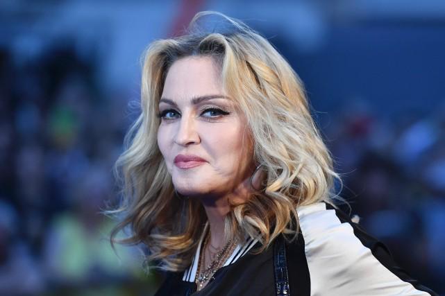 Madonna... (PHOTO BEN STANSALL, ARCHIVES AGENCE FRANCE-PRESSE)