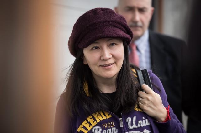 La dirigeante de Huawei, Meng Wanzhou, a été... (PHOTO DARRYL DYCK, ARCHIVES LA PRESSE CANADIENNE)