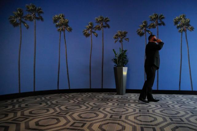 Selon la société YouMail, presque 48milliards d'appels automatisés,... (PHOTO JAE C. HONG, ARCHIVES ASSOCIATED PRESS)