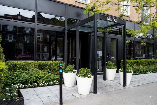 Le restaurant Milos «est construit sur l'idée que... (PHOTO DAVID BOILY, LA PRESSE)