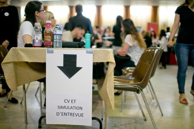 Depuis un an, l'emploi à temps complet progresse... (PHOTO DAVID BOILY, ARCHIVES LA PRESSE)