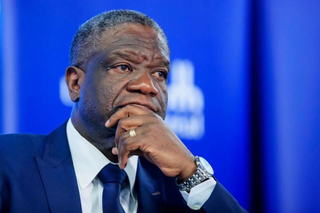 Le DrDenis Mukwege se fait le porte-étendard non... (PHOTO ALAIN ROBERGE, LA PRESSE)
