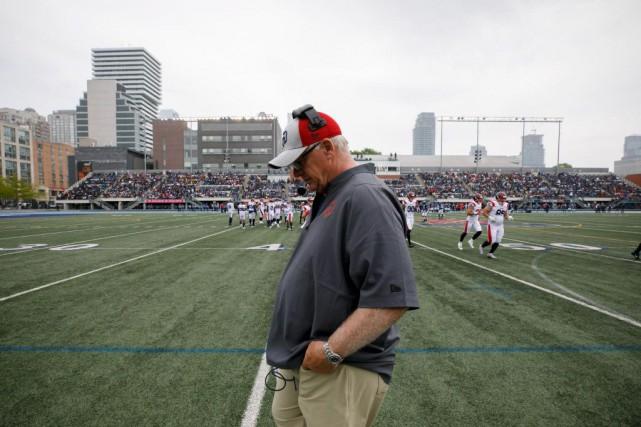 Mike Sherman n'aura fait qu'une saison avec les... (PHOTOCOLE BURSTON, ARCHIVES LA PRESSE CANADIENNE)