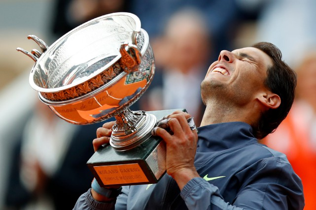 Rafael Nadal champion une 12efois à Roland-Garros