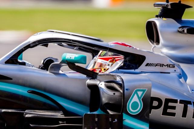 Lewis Hamilton... (PHOTO OLIVIER JEAN, LA PRESSE)