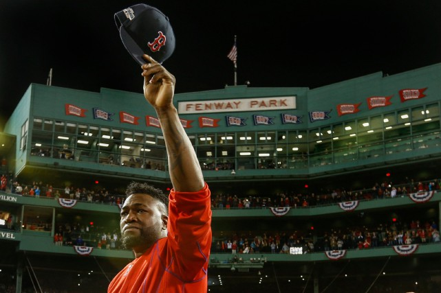 Selon les autorités, l'ancien joueur étoile des Red Sox de Boston, David Ortiz,... (PHOTO GREG M. COOPER, ARCHIVES USA TODAY SPORTS)