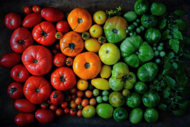 Planter des légumes colorés pour le plaisir des yeux autant que celui du... (PHOTO GETTY IMAGES)