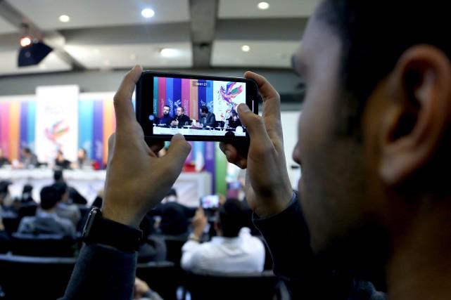 Les journalistes étrangers présents en Iran doivent faire... (ARCHIVES AFP)