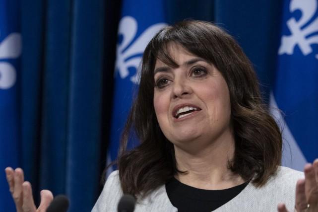 VéroniqueHivon, députée du Parti québécois... (PHOTOJACQUESBOISSINOT, ARCHIVES LA PRESSE CANADIENNE)