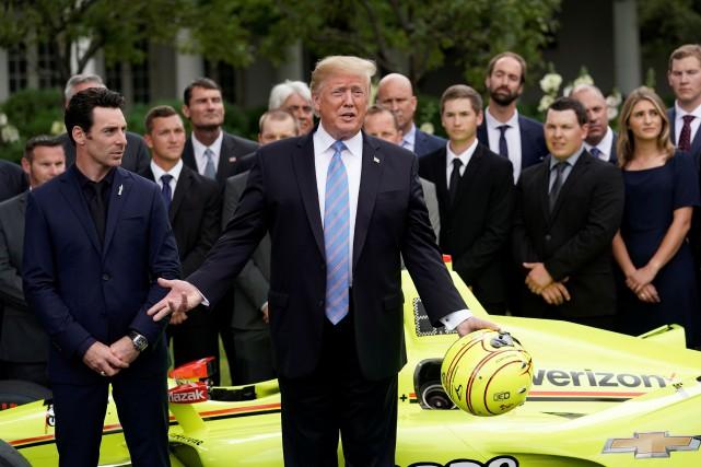 Le président Donald Trump a déclaré que gagner... (PHOTO KEVIN LAMARQUE, REUTERS)