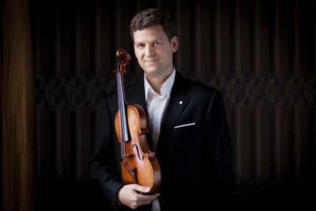 Le violoniste James Ehnes... (PHOTOBENJAMIN EALOVEGA, FOURNIE PAR L'ARTISTE)