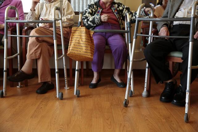 Trois appels d'offres pour la construction de 30 «maisons des aînés» et... (PHOTO RAMIN RAHIMIAN, ARCHIVES NEW YORK TIMES)