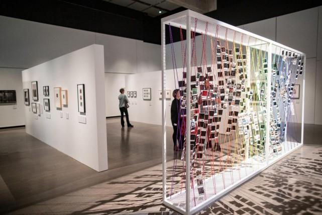 Le musée McCord accueille l'exposition Leprojet Polaroid, dans... (PHOTO DAVIDBOILY, LA PRESSE)
