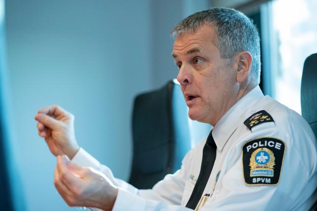 Le directeur du Service de police de la... (PHOTO DAVID BOILY, ARCHIVES LA PRESSE)