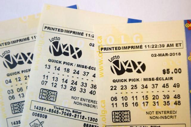 Gagner unmillion à la loterie est déjà un coup de chance, mais il faut être... (PHOTO ARCHIVES LA PRESSE CANADIENNE)