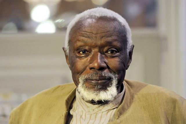 Le sculpteur sénégalais Ousmane Sow... (PHOTO XAVIER LEOTY, AFP)