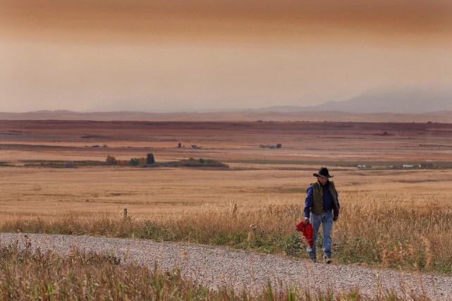 Le territoire de la réserve de la Première... (PHOTO DAVID ROSSITER, ARCHIVES LA PRESSE CANADIENNE)