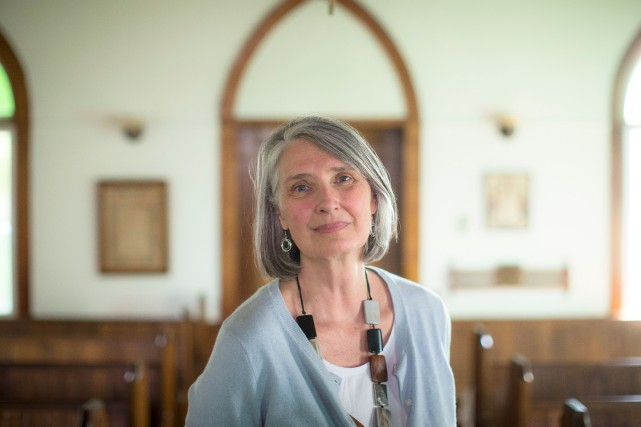 Louise Penny... (PHOTO OLIVIER PONTBRIAND, ARCHIVES LA PRESSE)