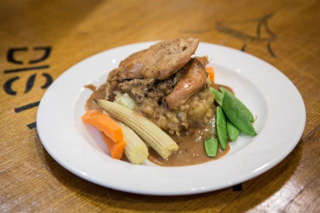 Le haggis écossais, ou panse de brebis farcie,... (PHOTO ÉDOUARD PLANTE-FRÉCHETTE, ARCHIVES LA PRESSE)