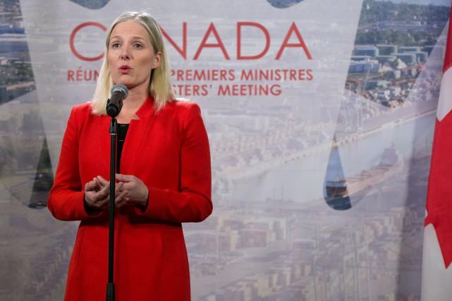 La ministre de l'Environnement et du Changement climatique,... (PHOTO CHRISTINNE MUSCHI, ARCHIVES REUTERS)