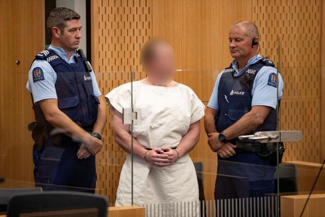 Brenton Tarrant est inculpé pour le meurtre de... (PHOTO REUTERS)