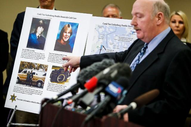 Après des décennies d'enquête infructueuse, la police avait... (PHOTO IAN TERRY, ARCHIVES ASSOCIATED PRESS)