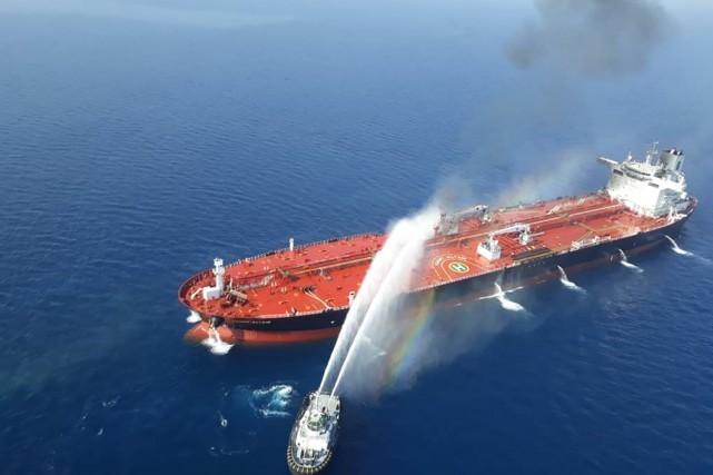 Les attaques dans la mer d'Oman sont «signées par l'Iran», accuse Trump