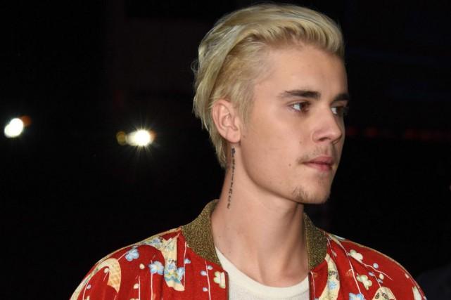 Justin Bieber... (PHOTO ROBYN BECK, AGENCE FRANCE-PRESSE)