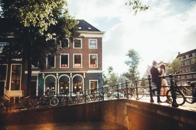 Amsterdam multiplie les stratégies pour apaiser les tensions... (PHOTO GETTY IMAGES)