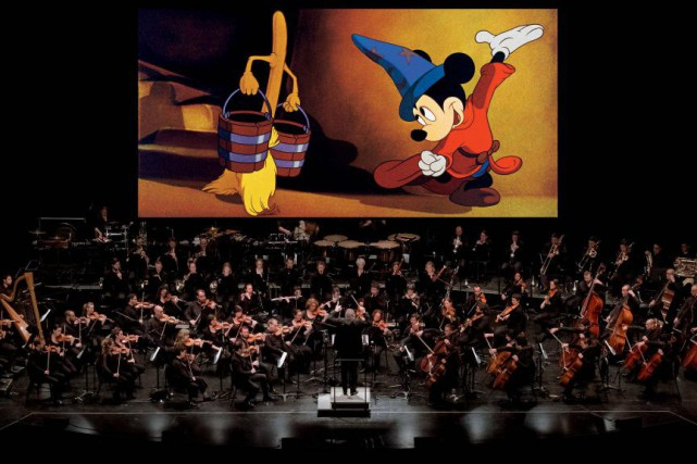 L'Orchestre FILMharmonique reprendra la musique de Fantasia.... (PHOTO FOURNIE PARL'ORCHESTRE FILMHARMONIQUE)