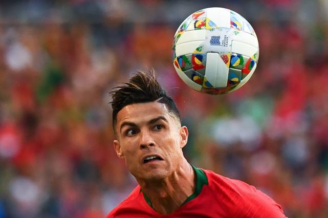 Le footballeur portugais Cristiano Ronaldo, accusé de viol aux États-Unis, a... (PHOTO GABRIEL BOUYS, AFP)