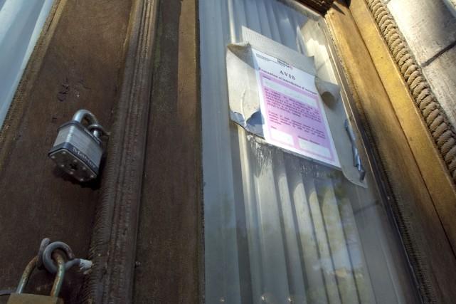 Des propriétaires peu scrupuleuxont falsifiédes avis d'éviction officiels... (PHOTO ALAIN ROBERGE, ARCHIVES LA PRESSE)