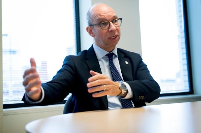 Le président-directeur général de la FCCQ Stéphane Forget.... (PHOTO MARCO CAMPANOZZI, ARCHIVES LA PRESSE)