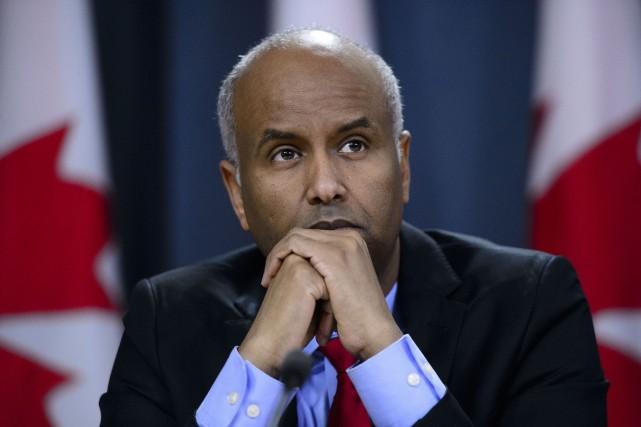 Le ministre fédéral de l'Immigration, Ahmed Hussen.... (PHOTO SEAN KILPATRICK, ARCHIVES LA PRESSE CANADIENNE)