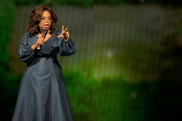 Oprah Winfrey était depassage à Montréal, hier, dans... (PHOTO CATHERINE LEFEBVRE, COLLABORATION SPÉCIALE)