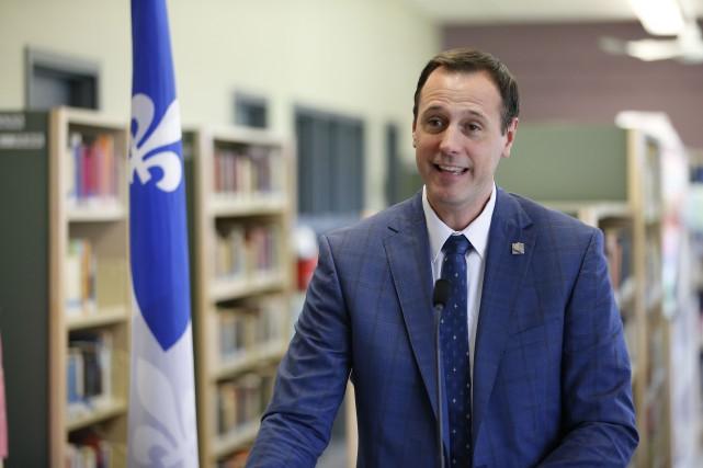 Jean-François Roberge annonce du même coup des modifications... (PHOTO MARTIN TREMBLAY, LA PRESSE)