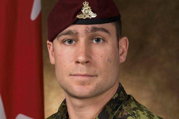 Le bombardier Patrick Labrie, membre du 2e Régiment,«Royal... (PHOTO FOURNIE PAR LES FORCES ARMÉES CANADIENNES)