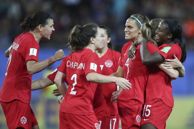 Les Canadiennes n'ont toujours pas perdu en 2019,... (PHOTO FRANCISCO SECO, ASSOCIATED PRESS)