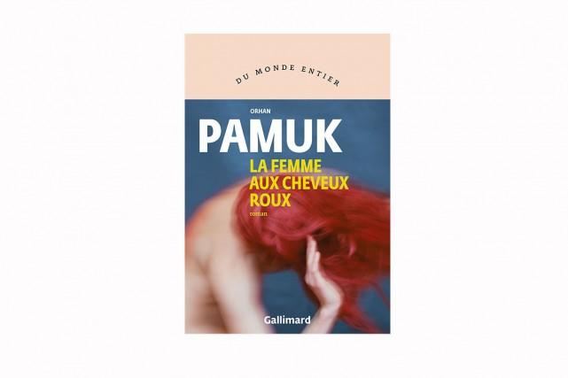 La femme aux cheveux roux, d'Orhan Pamuk... (IMAGE FOURNIE PAR GALLIMARD)