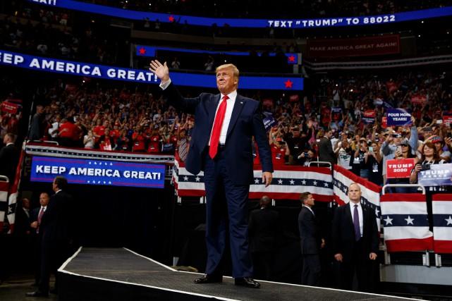 Trump lance sa campagne électorale sur un air de 2016