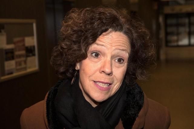 Sue Montgomery, mairesse de Côte-des-Neiges-Notre-Dame-de-Grâce, en février dernier... (PHOTO ROBERTSKINNER, ARCHIVES LAPRESSE)