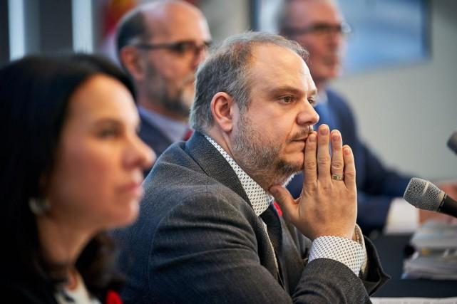 Benoît Dorais, président du comité exécutif de Montréal... (PHOTO ANDRÉ PICHETTE, ARCHIVES LA PRESSE)