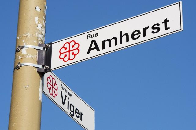 Le nom actuel de la rue fait référence... (PHOTO RYAN REMIORZ, ARCHIVES LA PRESSE CANADIENNE)