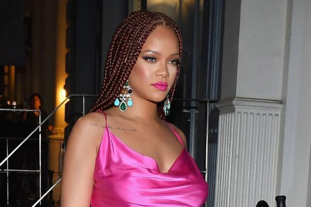 Rihanna a choisi New York pour ouvrir la... (PHOTO ANGELA WEISS, AFP)